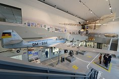 Český letoun Aero v drážďanském dopravním muzeu