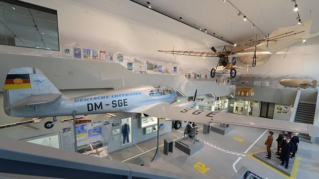 Český letoun Aero v drážďanském dopravním muzeu ... 6a26775ee9d