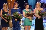 Týmový výkon roku: štafeta žen, zleva Eva Puskarčíková, Kabriela Soukalová, Veronika Vítková a Lucie Charvátová.