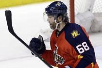 Jaromír Jágr překonal v historických tabulkách střelců NHL legendárního Bretta Hulla.