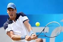 Tomáš Berdych na turnaji v Londýně.