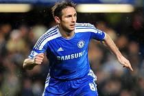 Frank Lampard ještě v dresu Chelsea