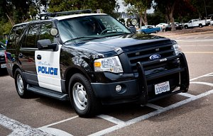 Americká policie, ilustrační foto
