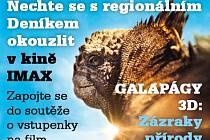 Nechte se s regionálním Deníkem okouzlit v kině IMAX