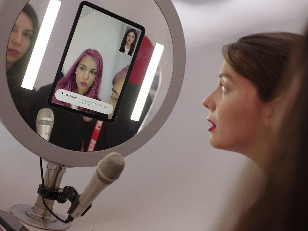 Virtuální kadeřník