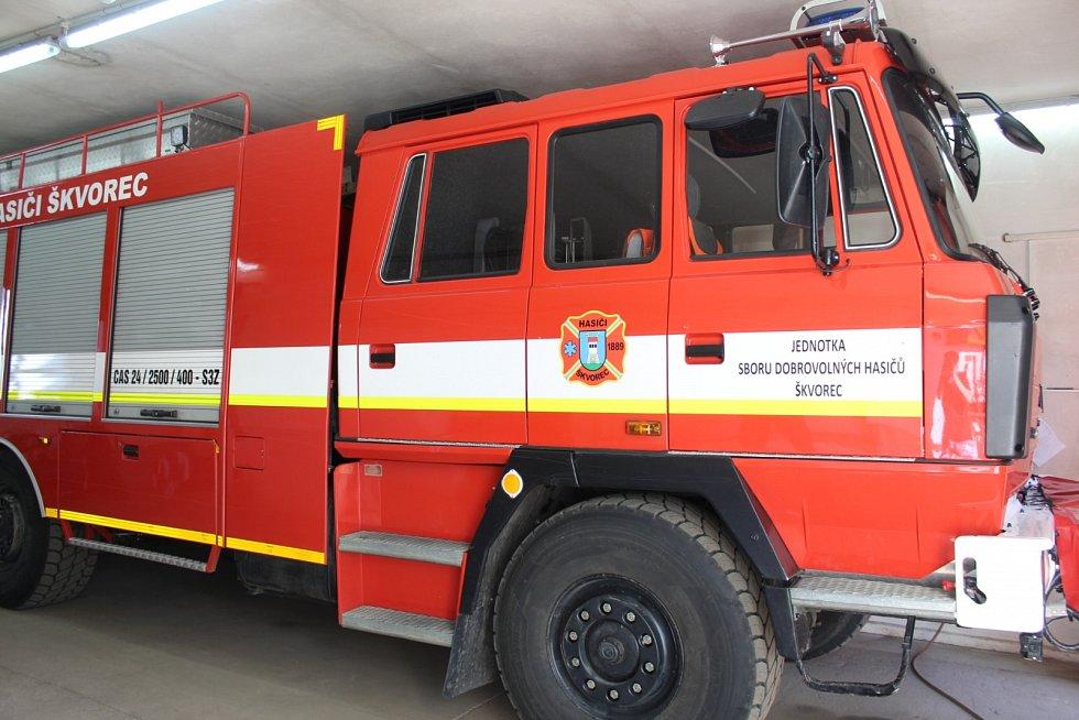 Nová Tatra slouží hasičům od září roku 2017.