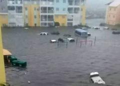 Devastace, kterou za sebou nechal hurikán Irma na karibských ostrovech