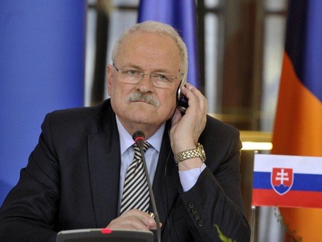 Slovenský exprezident Ivan Gašparovič.