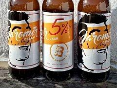 Malý pivovar v Kanadě pojmenoval pivo po Jágrovi.