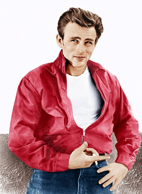 Hollywoodský rebel James Dean