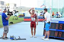 Jan Veleba vyrovnal český rekord na 100 m