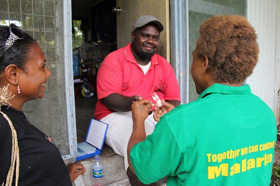 Testování na nákazu malárií
