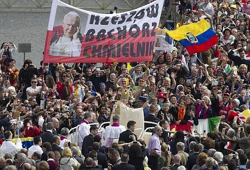 Jan Pavel II. byl prohlášen za blahoslaveného