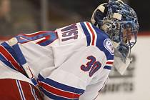 Gólman New York Rangers Henrik Lundqvist.
