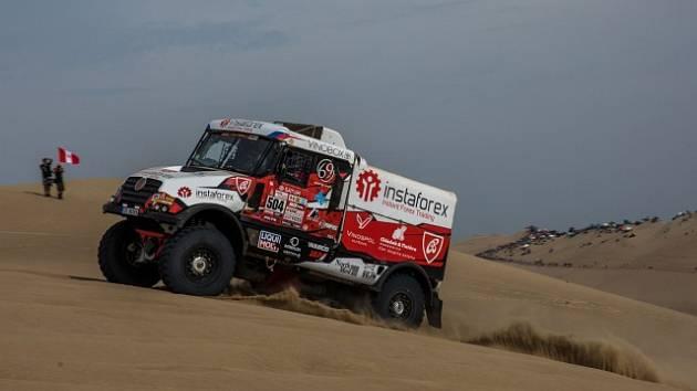 Aleš Loprais na Dakaru.