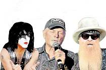 Paul Stanley, Mike Love a Billy Gibbons