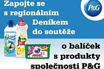 Zapojte se s regionálním Deníkem o balíček s  produkty společnosti  P&G, která finančně podporuje Českou olympijskou nadaci.