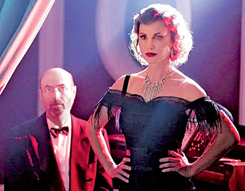 Jako prostitutka Golda v oblíbeném seriálu První republika.