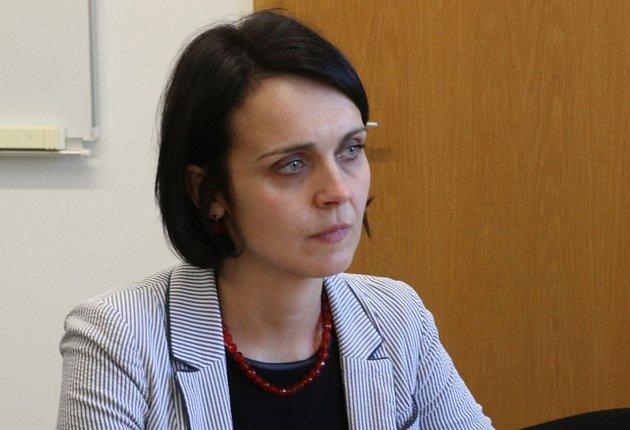 Ředitelka Památníku Lidice Martina Lehmannová (na snímku z31. března 2017).
