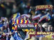 Sparta - Krasnodar: Fanoušci na Letné
