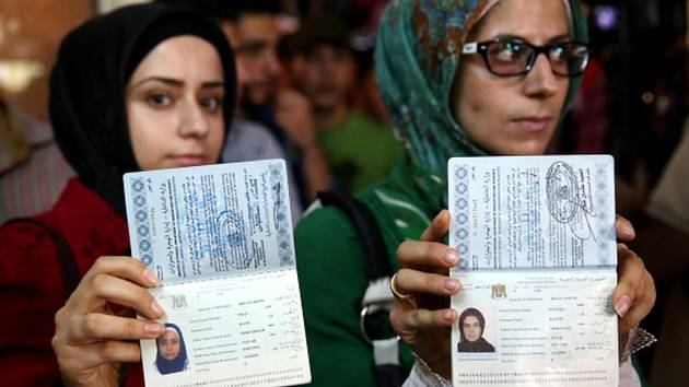 V Sýrii od začátku roku prudce vzrost počet žadatelů o pas.