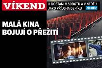 Malá kina, upoutávka na magazín Víkend