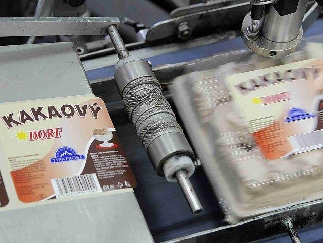 Výroba polárkového dortu. Ilustrační foto