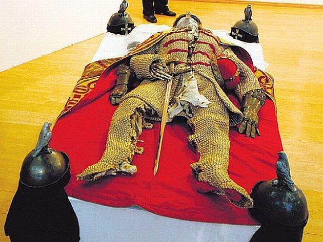 Kateřina Štefková vystavila svého Václava, který se těšil velkému zájmu návštěvníků