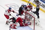 Čeští hokejisté do 20 let v utkání s USA