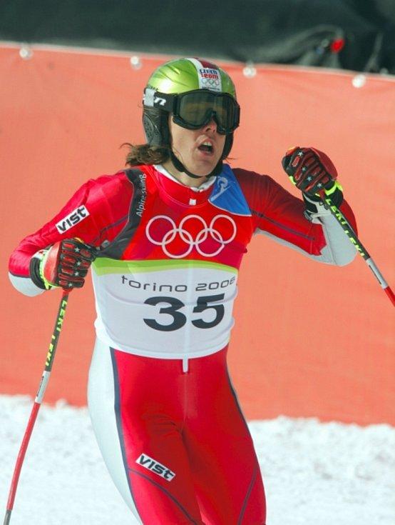 Rok 2006: Ondřej Bank bral na olympiádě v Turíně šesté místo