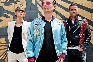 Britská rocková skupina Muse