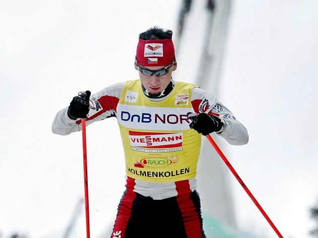 Lukáš Bauer dojel na Holmenkollenu druhý.