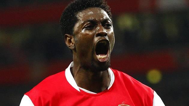 Emmanuel Adebayor už se v dresu Arsenalu z gólu radovat nebude.