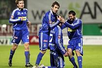 Olomouc slaví gól. A stejnou radost si v pondělí proti Teplicím vychutnali hned šestkrát.