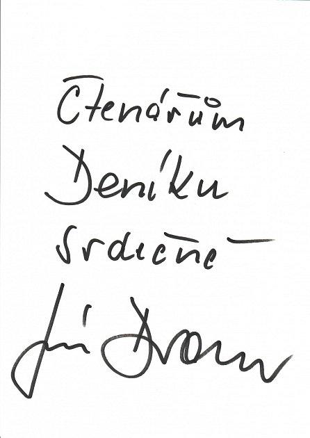 Podpis Jiřího Drahoše