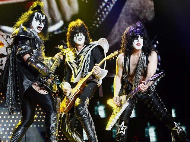 Legendární americká skupina Kiss vystoupila 23. května 2010 v pražské O2 Areně.