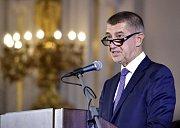 Premiér Andrej Babiš zahájil 3. září v Praze komunální a senátní kampaň pro říjnové volby.