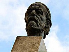 Busta Bedřicha Smetany.