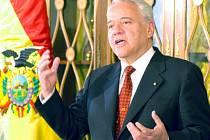 Bývalý prezident Bolívie Gonzalo Sánchez de Lozada