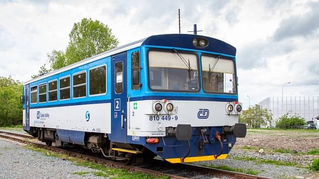 Motorový vůz 810 - Ilustrační foto