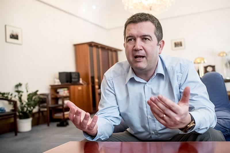 Předseda ČSSD Jan Hamáček.