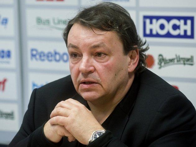Předseda Českého svazu ledního hokeje Tomáš Král.