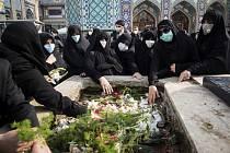Na íránském ministerstvu obrany se dnes konal smuteční obřad za jaderného fyzika Mohsena Fachrízádeha, který byl zabit při atentátu