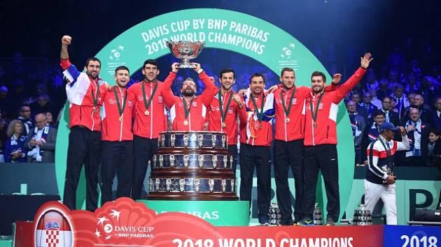 Poslední Davis Cup hraný tradičním systémem ovládli Chorvaté