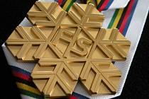 Medaile pro světový šampionát lyžařů už dorazily do Liberce.