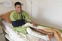 Erwin Tumiri přežil pád letadla i nehodu autobusu