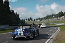 PlayStation 4 hra Gran Turismo Sport.