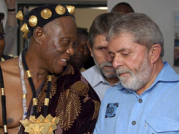 Brazilský prezident propaguje prudukci biopaliv a Brazílie investuje do jejich výroby například v Ghaně.