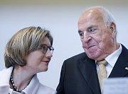 Helmut Kohl s manželkou Maike Richter-Kohl