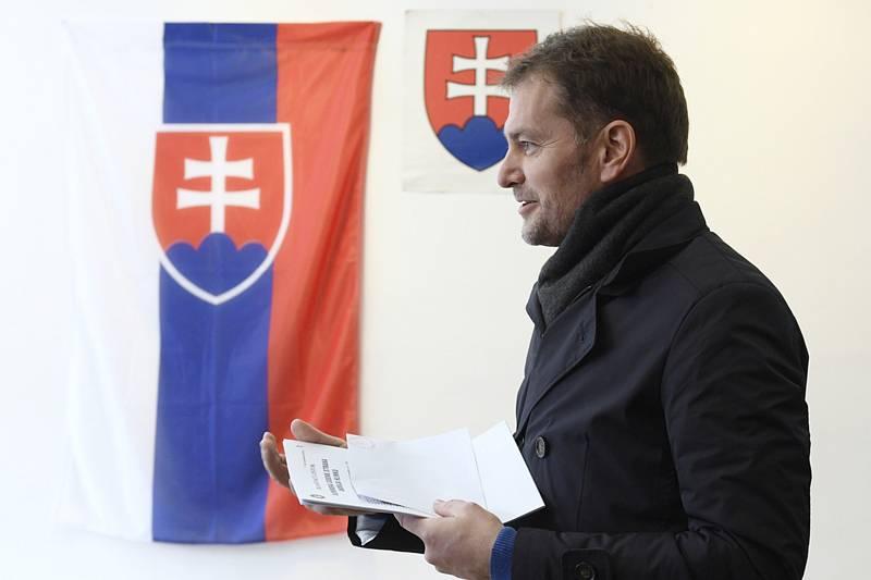 Předseda hnutí Obyčejní lidé a nezávislé osobnosti (OLaNO) Igor Matovič.